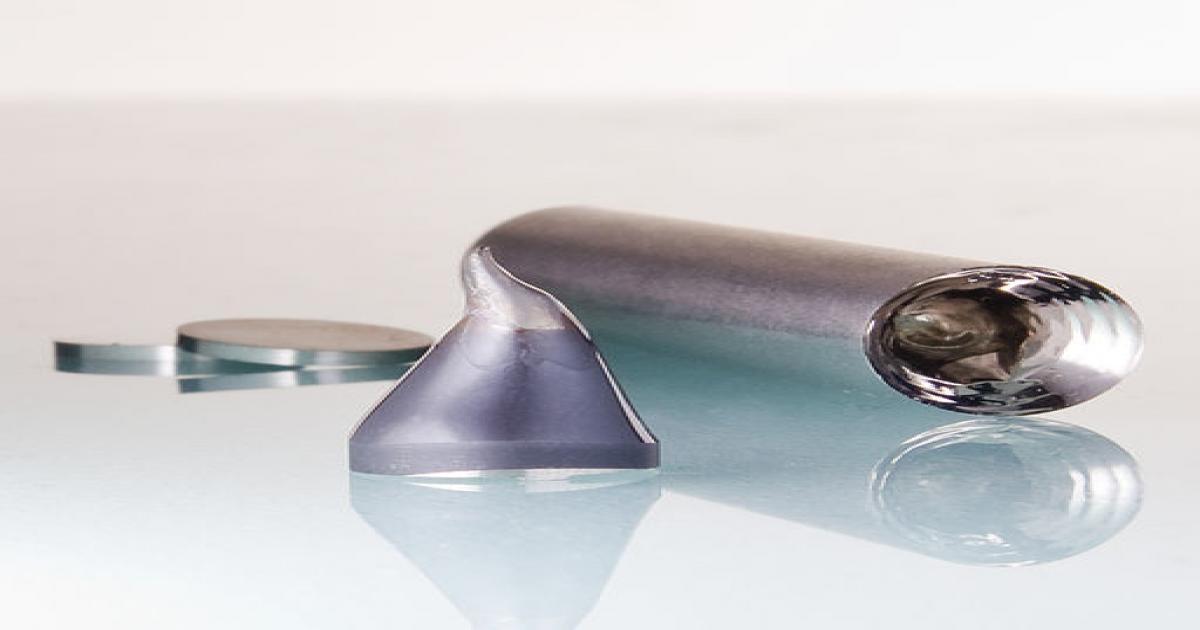 Metallic glass elements (Credits: Björn Gojdka, CC BY 3.0, via Wikimedia Commons)