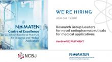 RADIOPHARMACEUTICALS Research Group Leader - Recruitment